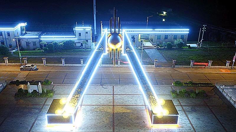 江门鹤山古劳西江明珠雕塑灯光工程